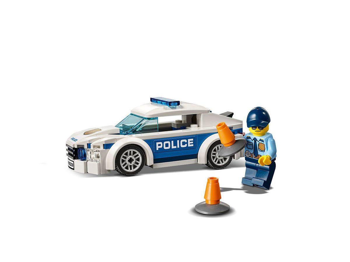 Lego City - Carro Patrulha Da Polícia - 92 Peças -