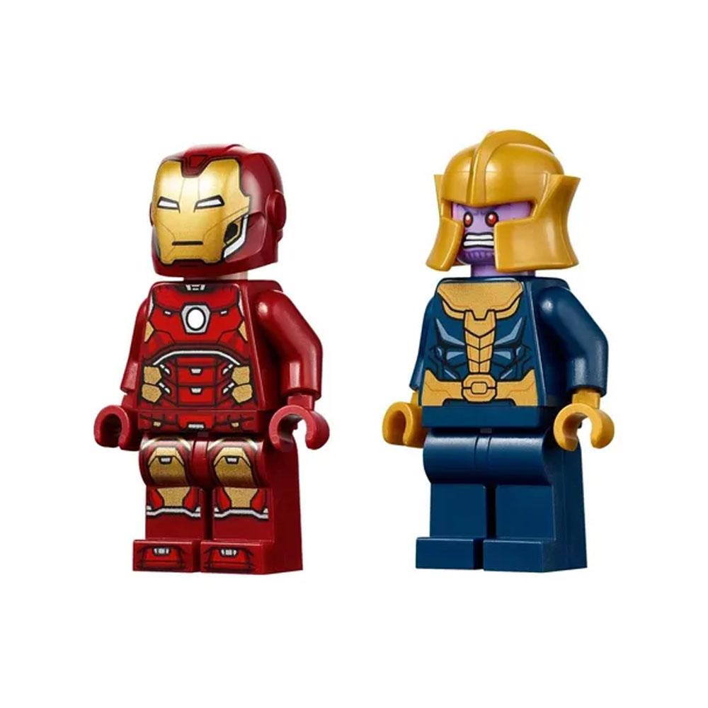 Lego Marvel Homem De Ferro Vs Thanos 76170