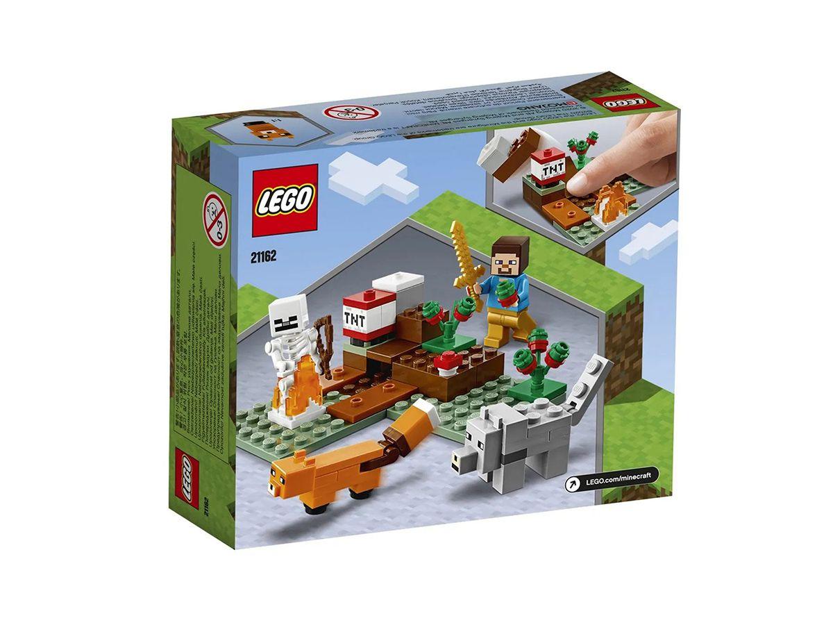 Lego Minecraft A Aventura Em Taiga 21162