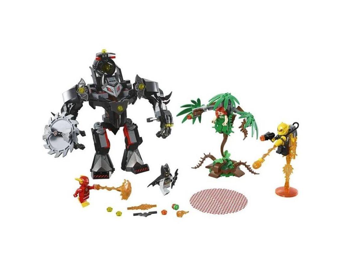 Lego Super Heroes Batman Robô Vs. Poison Ivt Robô 76117