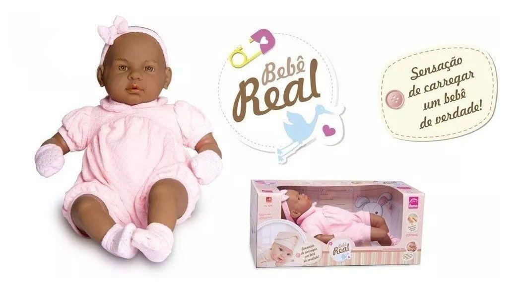 Linda Boneca Bebê Real Estilo Reborn Roma Jensen