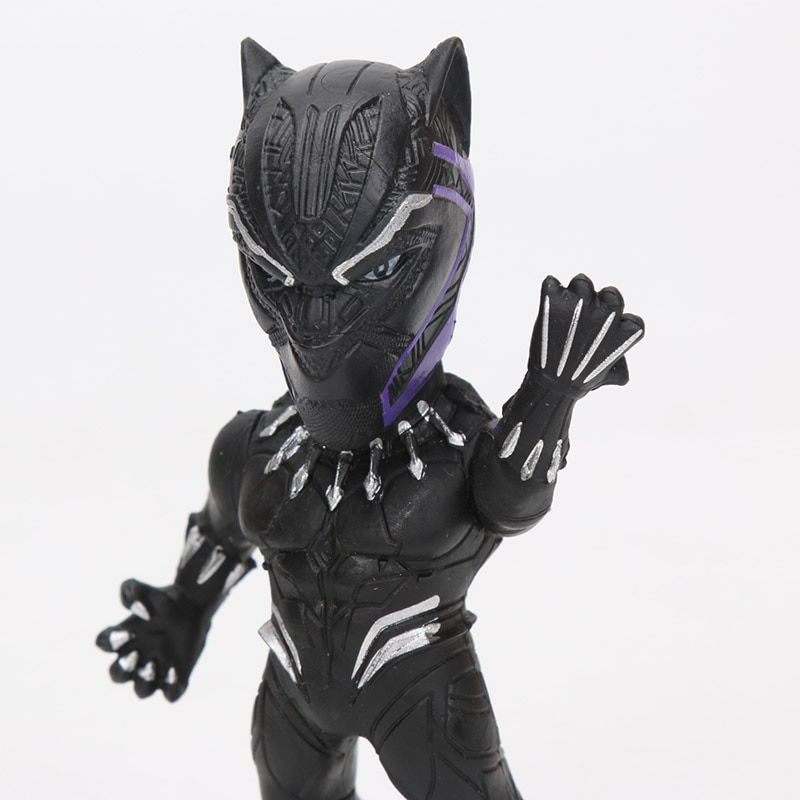 Lote De Bonecos Miniaturas Vingadores Marvel Pantera Negra Hulk Groot