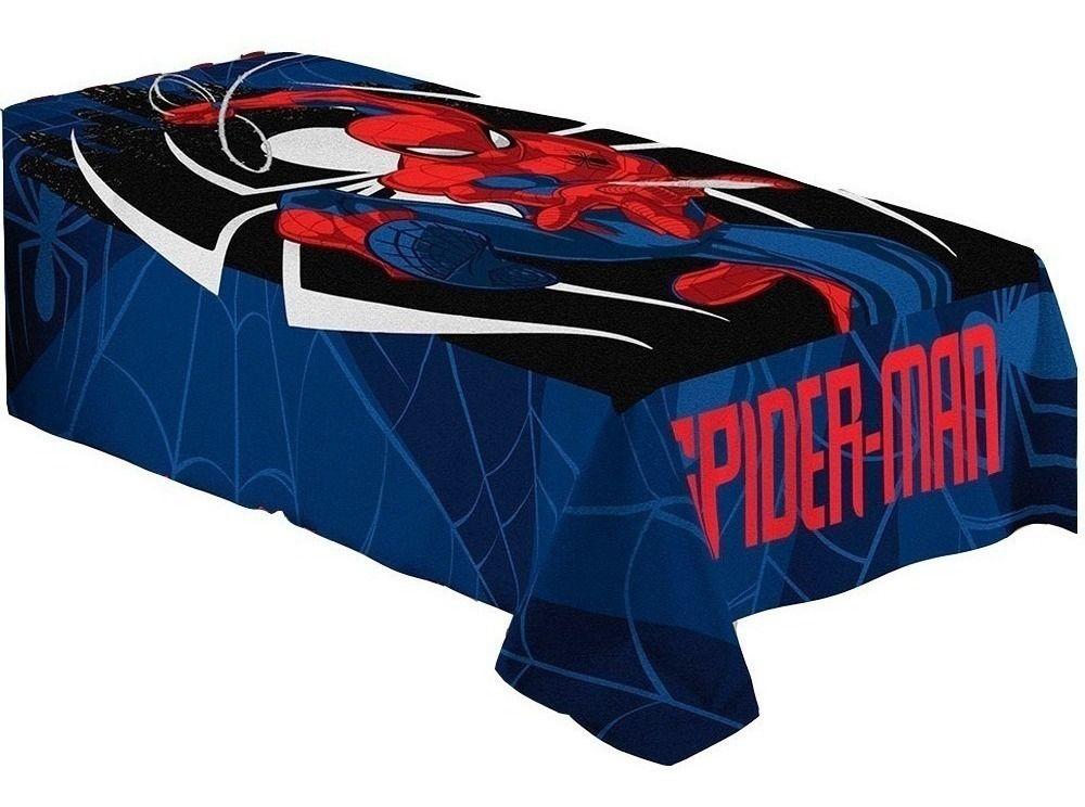 Manta Fleece Spider Man Homem Aranha Infantil Lepper