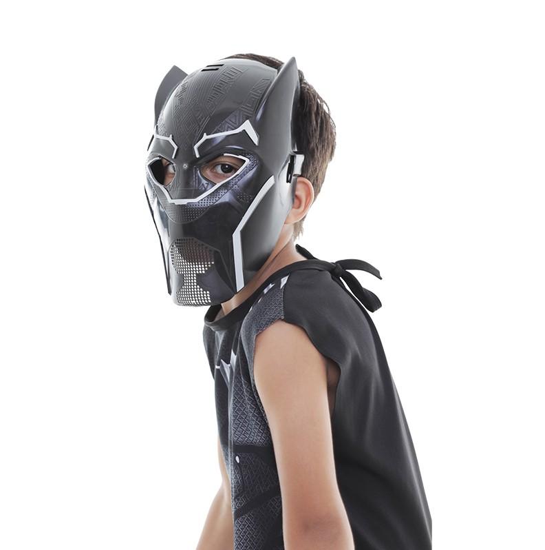 Máscara Pantera Negra Black Cosplay Infantil Vingadores