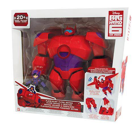 Mini Figura - 8 Cm - Big Hero 6 - Sortido - Sunny