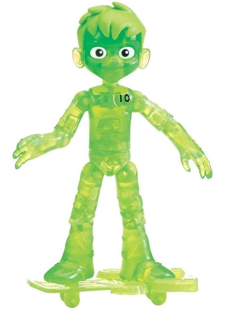 Boneco Ben 10 Glitch Fora Do Omnitrix Verde Sunny