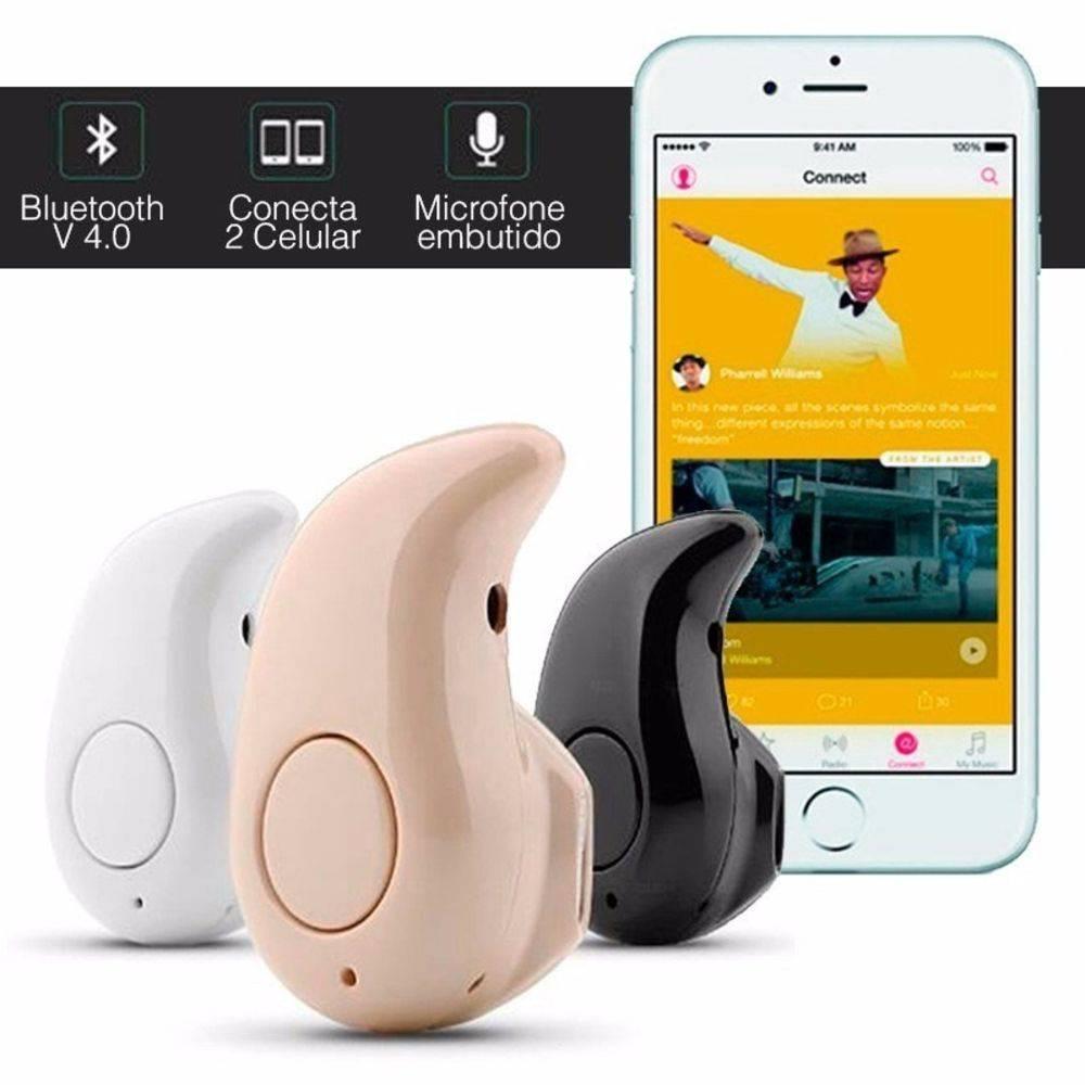 Mini Fone De Ouvido Sem Fio Bluetooth V4.0 Micro Menor Do Mundo - DUPL