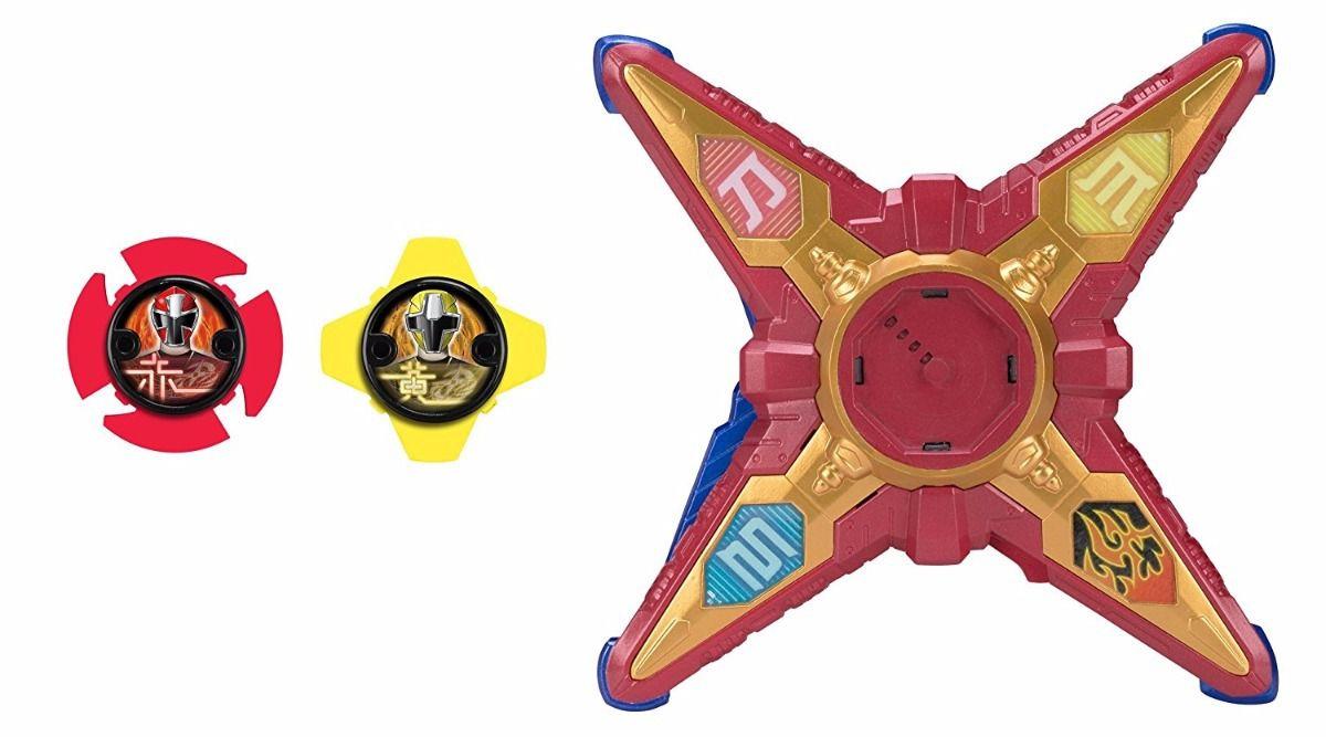 Morfador Deluxe 3em1 Power Rangers Ninja Steel Bandai