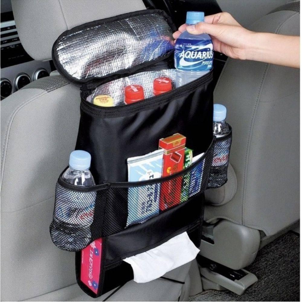 Organizador Portatil Cooler Bolsa Termica Para Carro E Automovel Porta Treco Multiuso Uber Taxi - DUPL