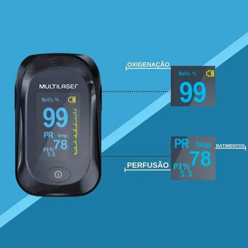 Oxímetro De Dedo Portátil Digital Pulso Medidor Sangue