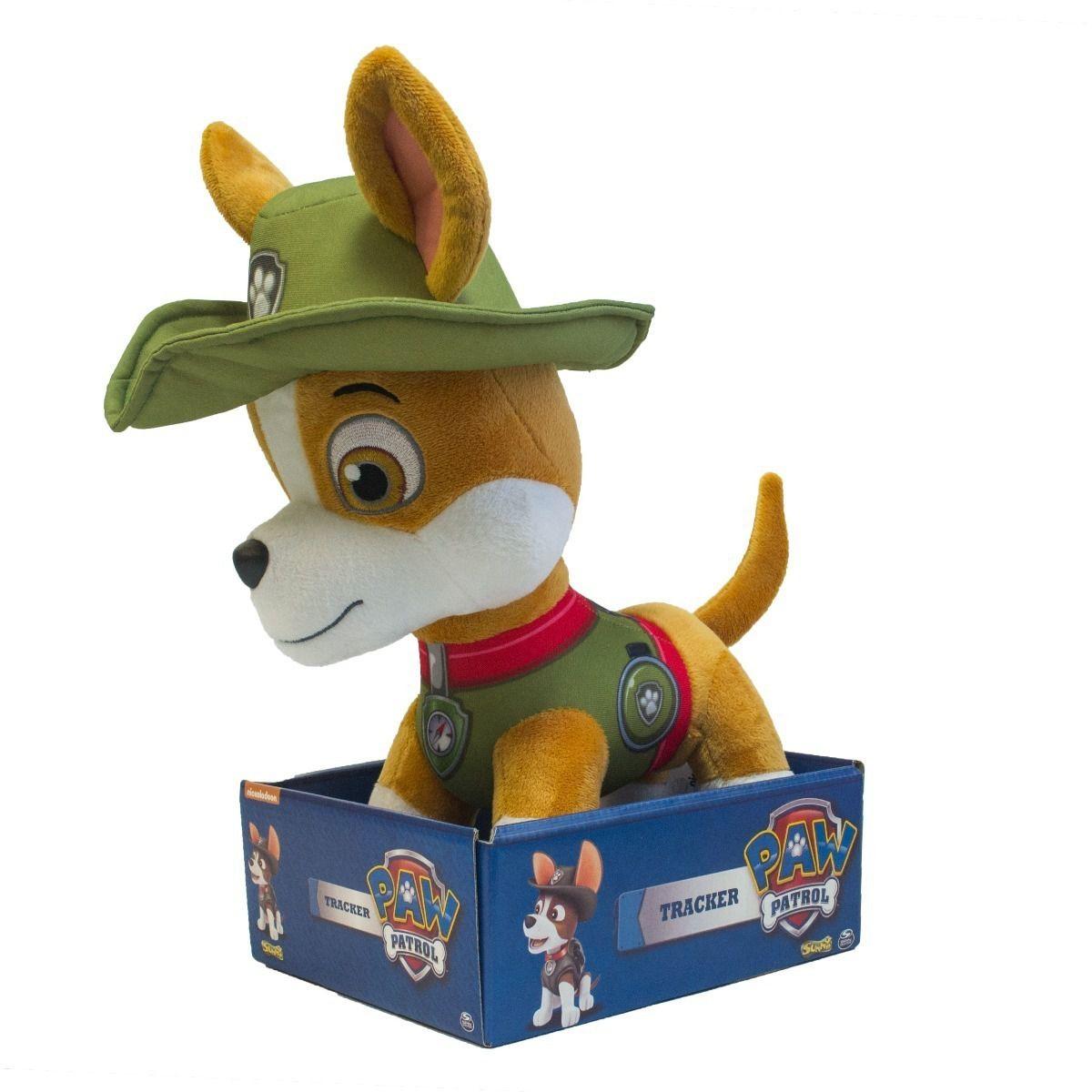 Pelucia Patrulha Canina Tracker 30 Cm Sunny 1353