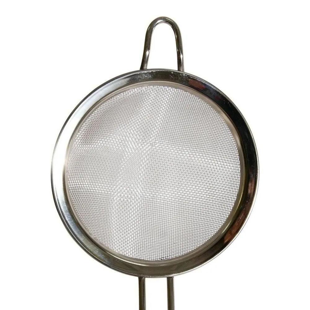 Peneira Coador Para Cozinha Em Aço Inox 12cm