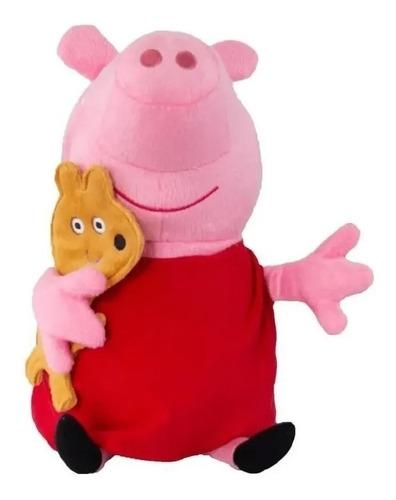 Peppa Pig Boneca De Pelúcia 30 cm - Sunny  2340