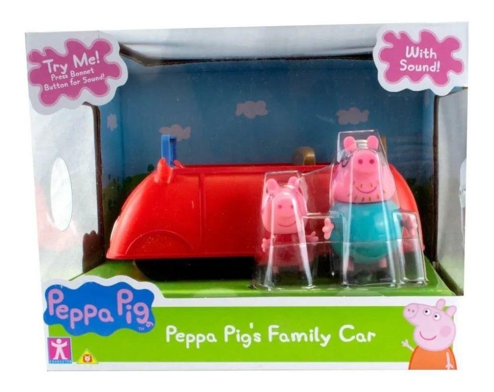 Peppa Pig Carro Da Família Com Som - Sunny 2304