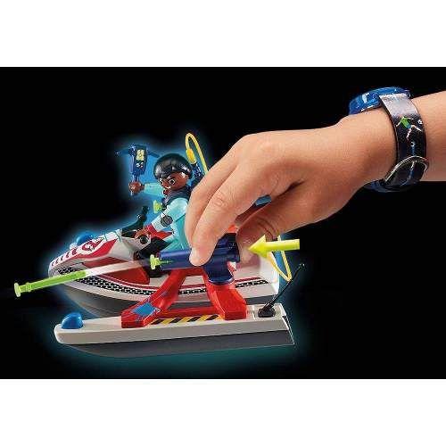Playmobil Caca Fantasma Jetski - 9387
