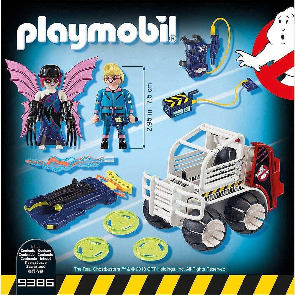 Playmobil Caca Fantasma Veiculo Esfera - 9386