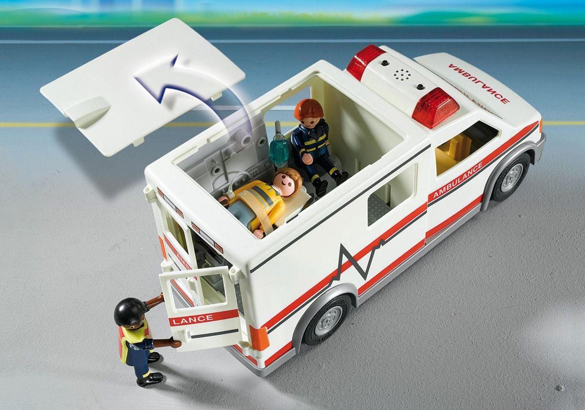 Playmobil City Action Ambulância De Resgate 5681 270
