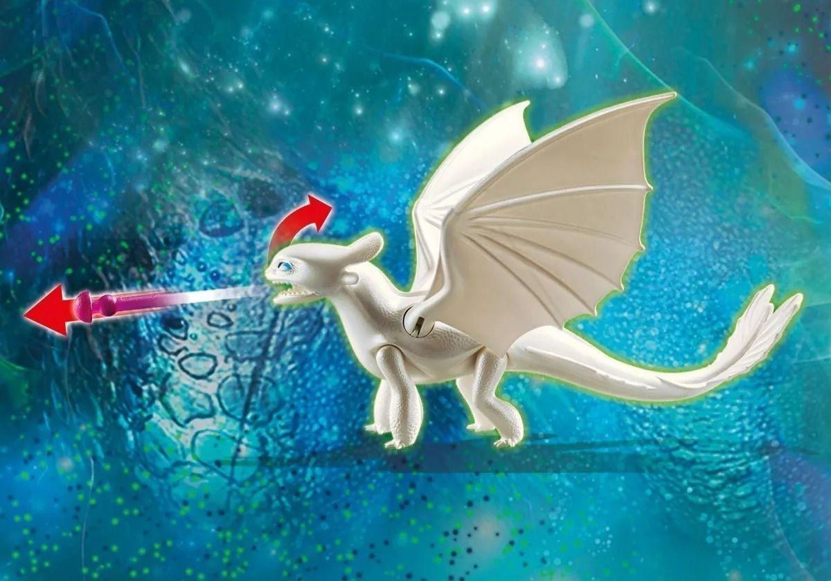 Playmobil - Como Treinar Seu Dragão 3 Furia Da Luz Crianças