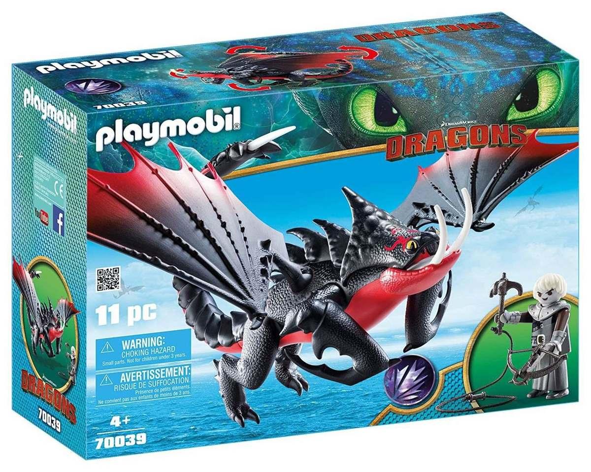 Playmobil Como Treinar Seu Dragão 3 Grimmel E Deathgripper
