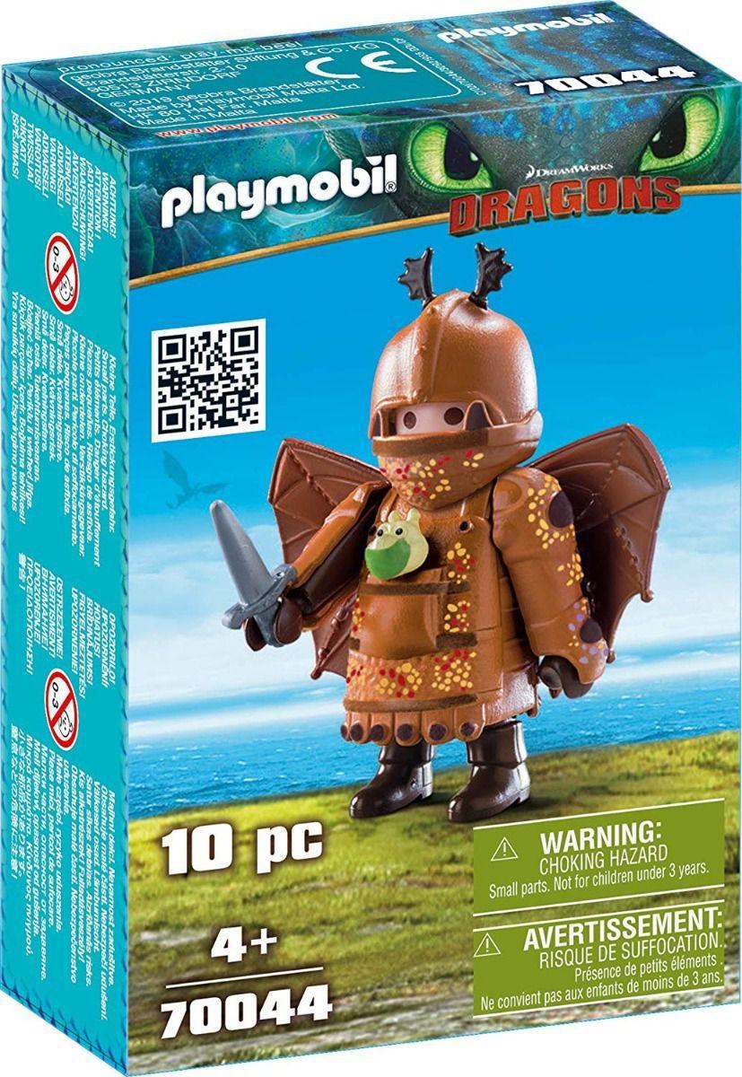 Playmobil - Como Treinar Seu Dragão 3 - Perna De Peixe