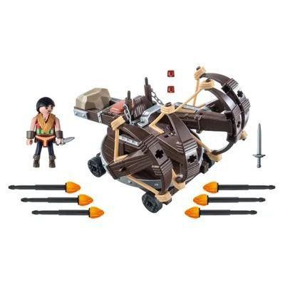 Playmobil Como Treinar Seu Dragão Eret Catapulta 9249 Sunny