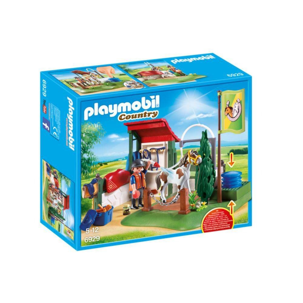 Playmobil Country Estação De Preparo Para Cavalo Sunny 6929