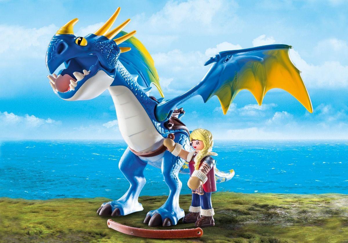 Playmobil - Dragons Astrid E Tempestade - Sunny