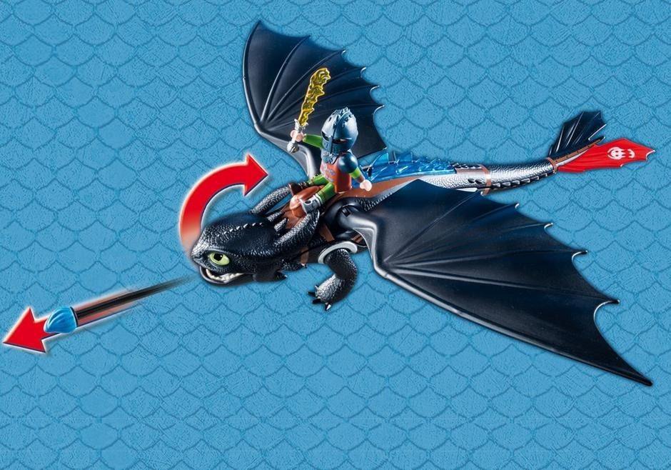 Playmobil - Dragons Soluço E Banguela - Sunny