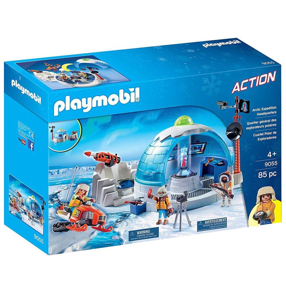 Playmobil - Expedição Ártica - Central De Expedição Polar