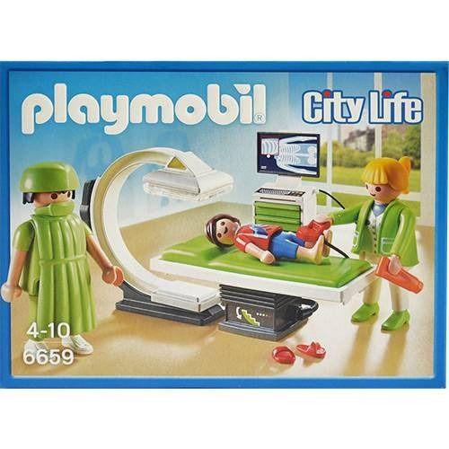 Playmobil Sala De Raio X - Sunny