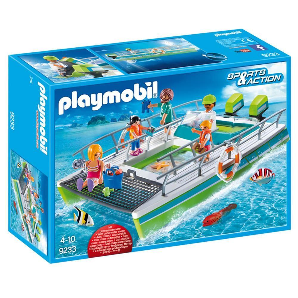 Playmobil Sunny Sports & Action Barco Visão Submarina Motor