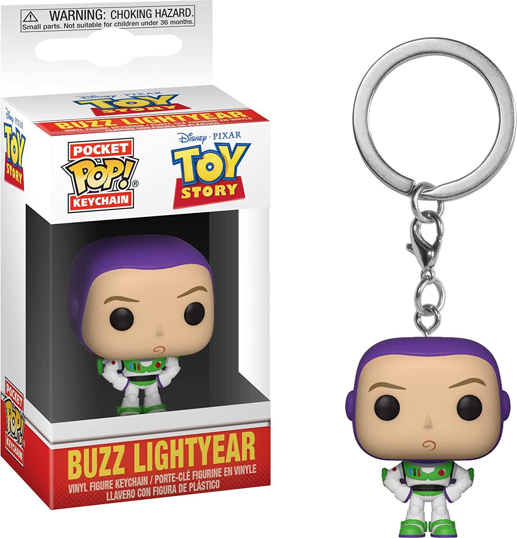 Pocket Pop Keychain Chaveiro Funko Buzz Lightyear Toy Story