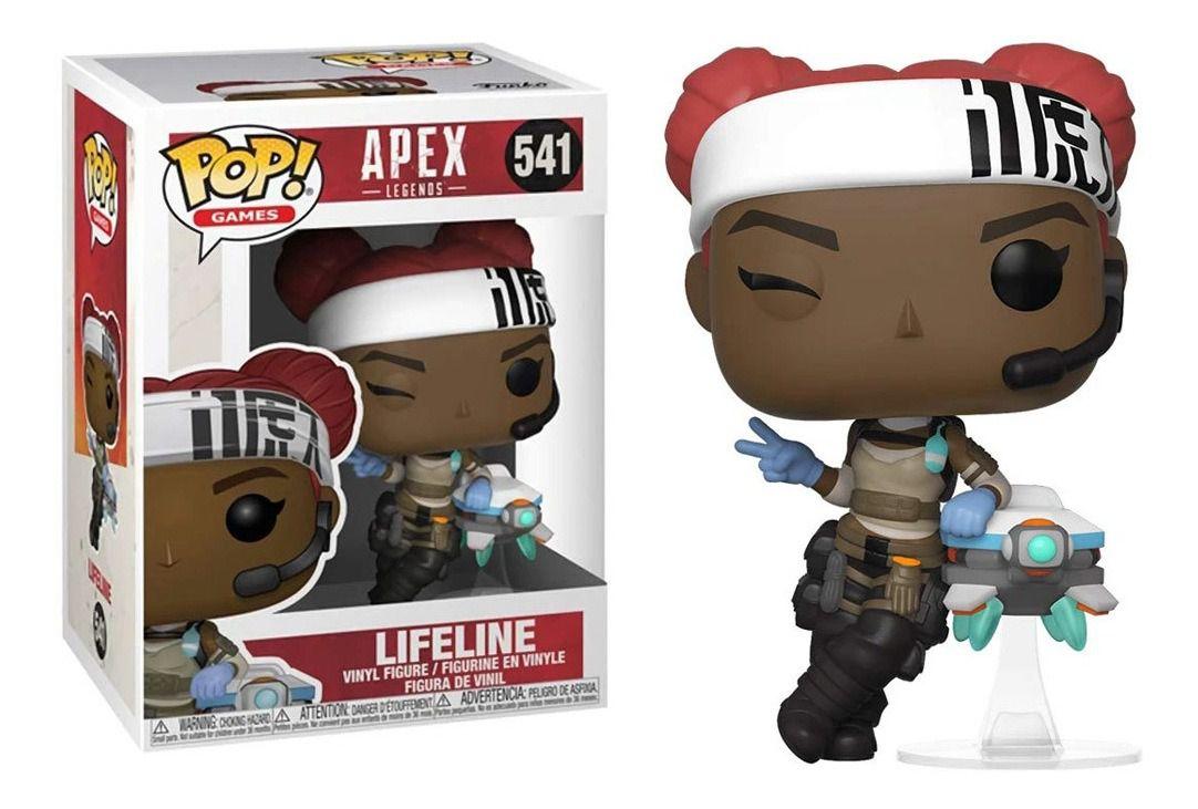 Pop Funko 541 Lifeline Apex Legends Life Line