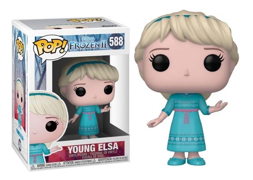 Pop Young Elsa 588 Frozen Ii - Funko