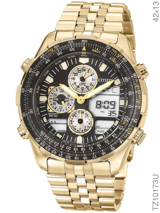 Relógio Citizen Navihalwk TZ10173U Dourado