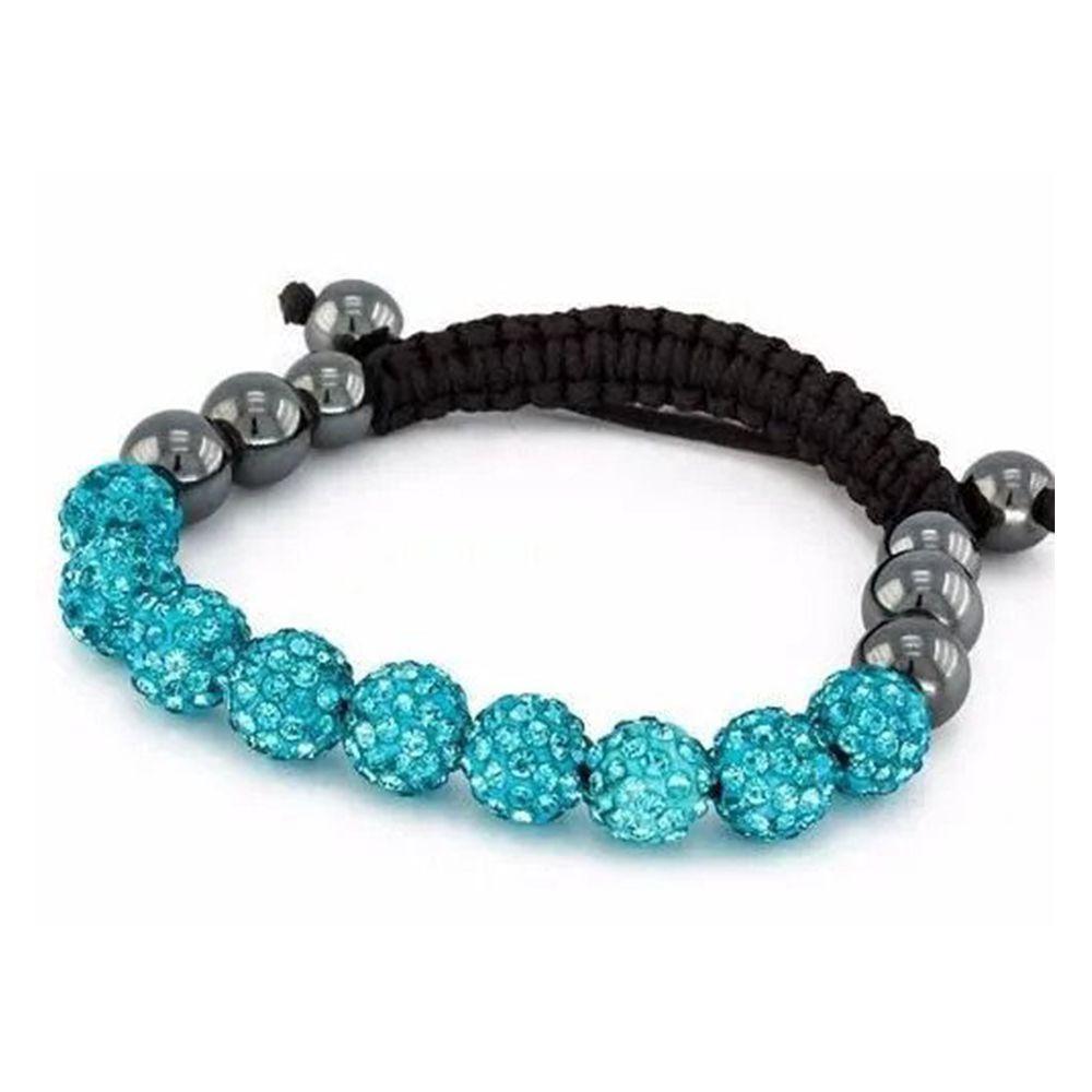 Pulseira Bracelete Shambhala Shambala Azul