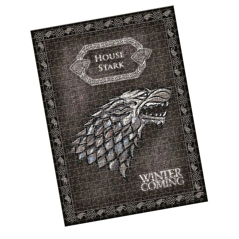 Puzzle Game Of Thrones 500 Pç + Chaveiro Jon Snow Funko Pop