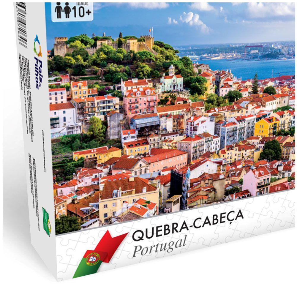 Quebra-cabeça Puzzle 1000 Peças Portugal Pais&filhos 7288s