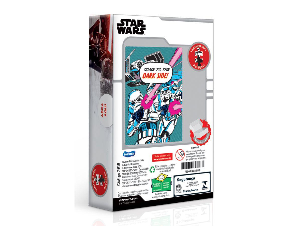 Puzzle Quebra-cabeça Star Wars - Stormtrooper 500 Peças Nano Toyster