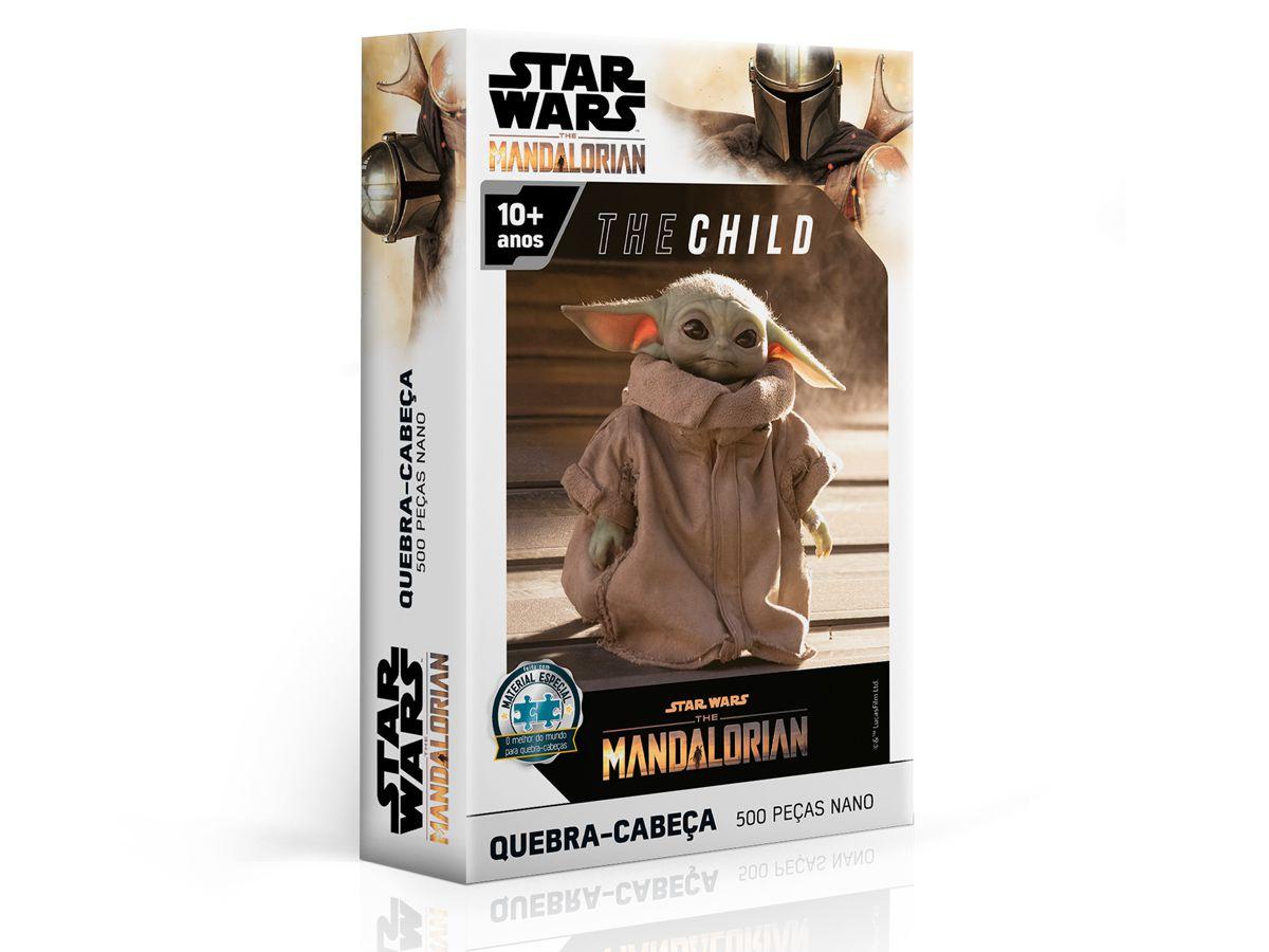 Puzzle Quebra Cabeça Star Wars The Mandalorian 500 Peças Toyster