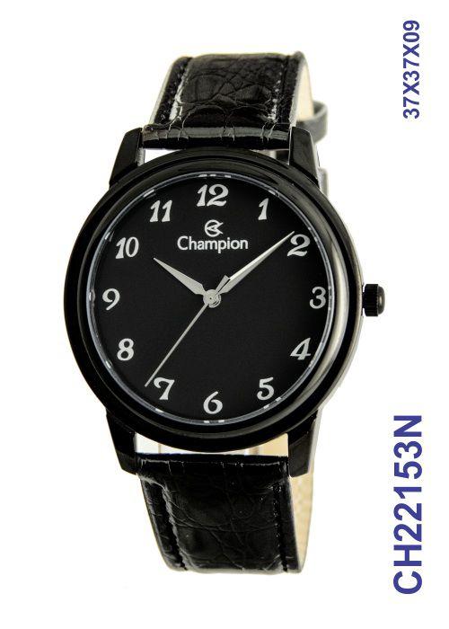 Relógio Analógico Masculino Champion CH22153N Preto