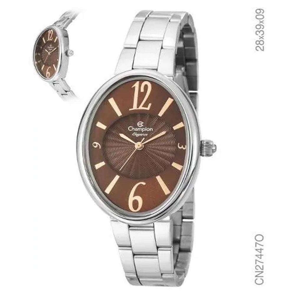Relógio Champion Elegance Analógico Cn27447o