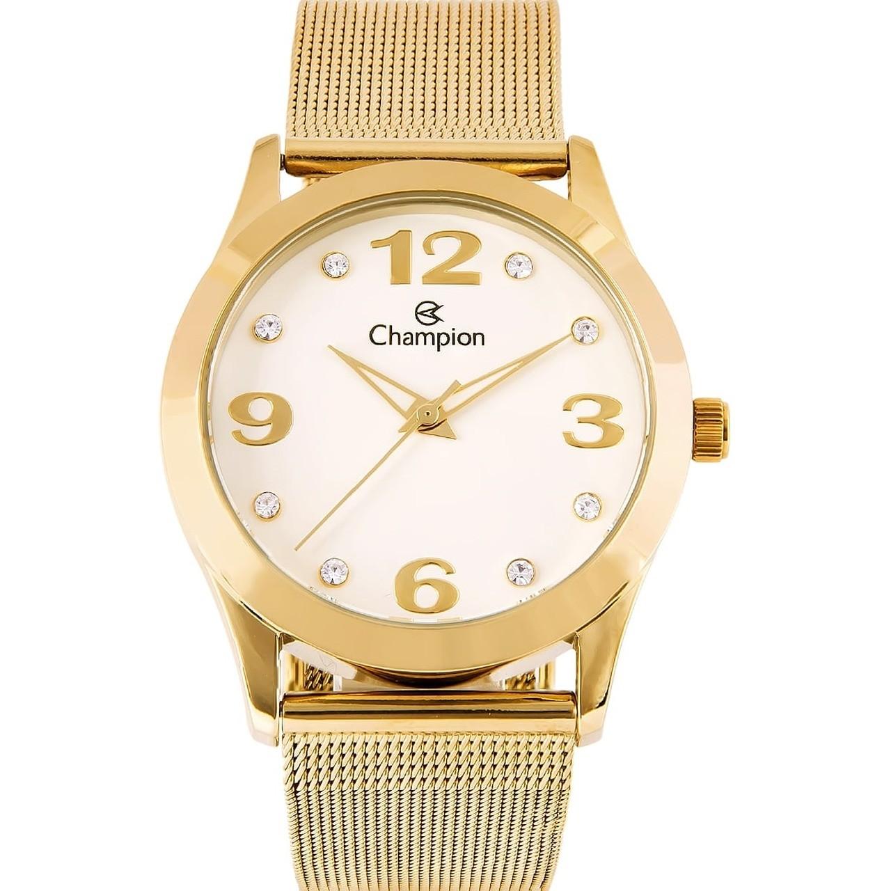 Relógio Champion Feminino Analógico Fivela Cn29098h