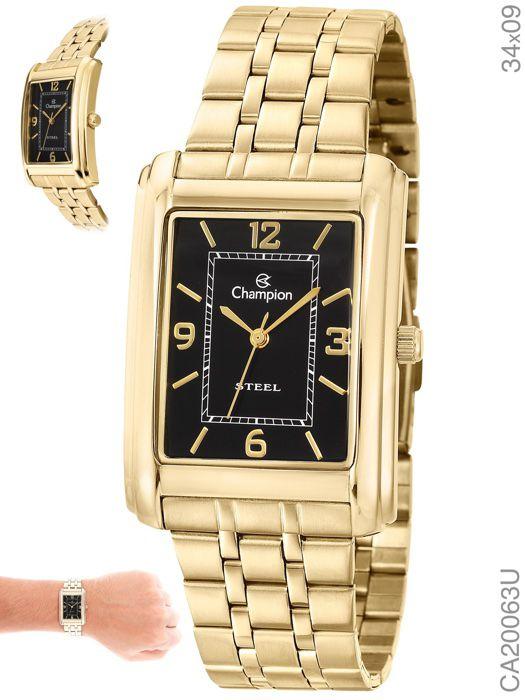 Relógio Champion Feminino CA20063U Dourado
