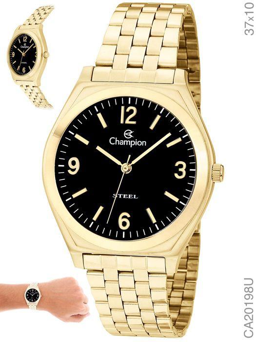 Relógio Champion Feminino Ca20198u Dourado