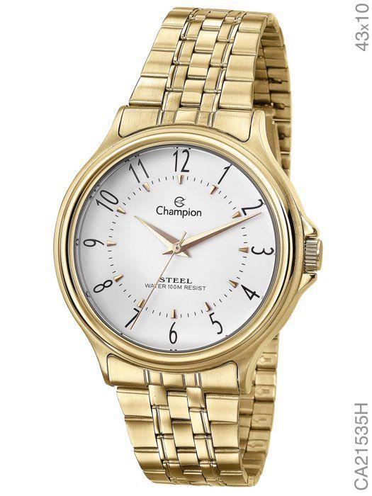 Relógio Champion Feminino Ca21535h Dourado