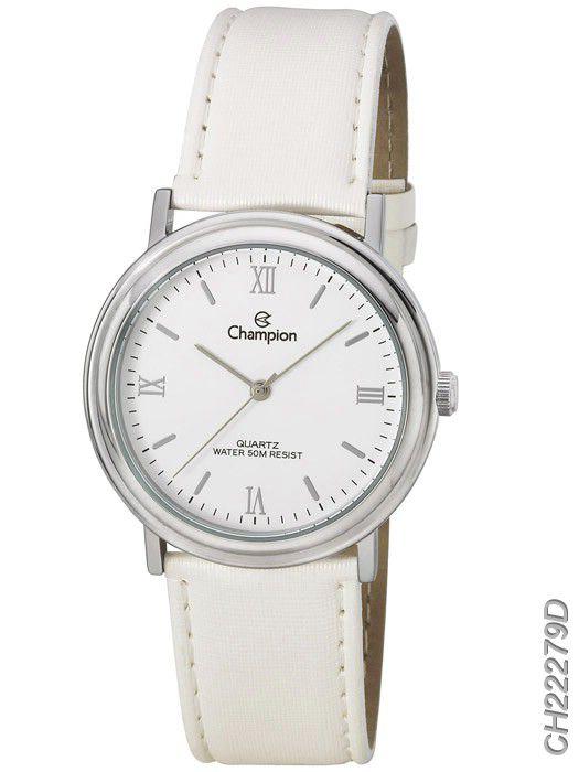 Relógio Champion Feminino CH22279D Pulseira De Couro