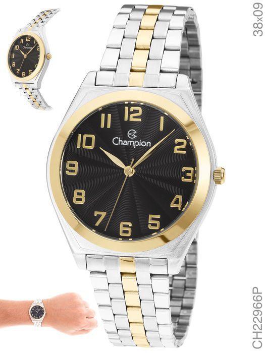 Relógio Champion Feminino CH22966P Aço Misto