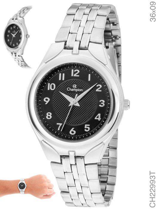 Relógio Champion Feminino CH22993T Prateado