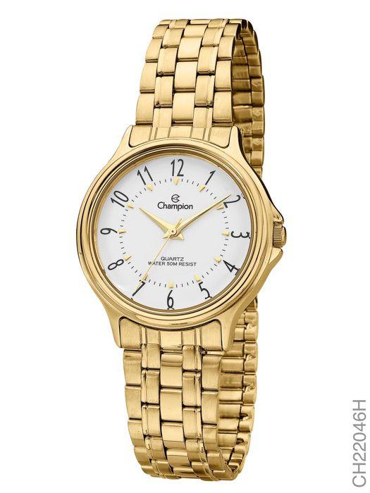 Relógio Champion Feminino Clássico CH22046H Dourado